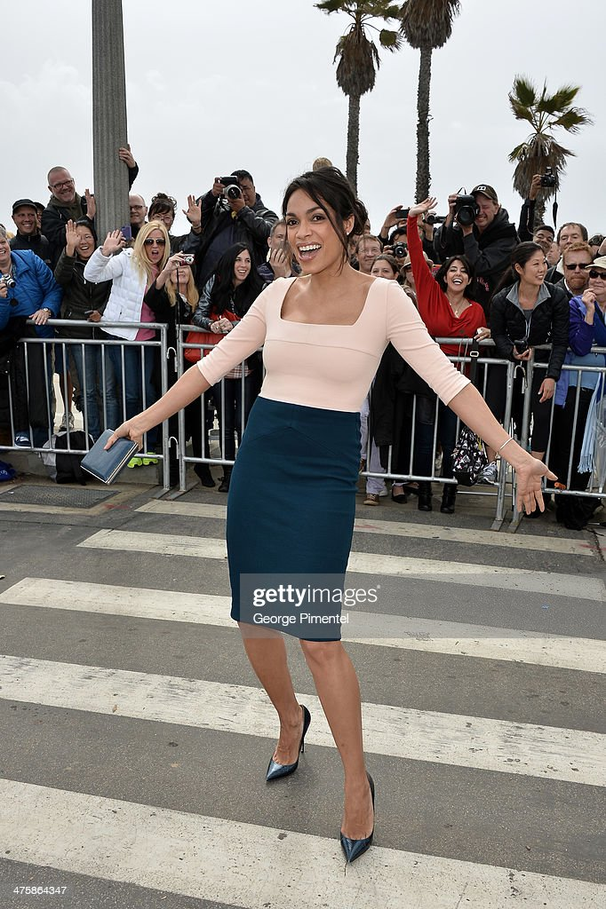 Acterss Rosario Dawson attends the 2014 Film Independent Spirit Awards at Santa Monica Beach on March 1, 2014 in Santa Monica, California.