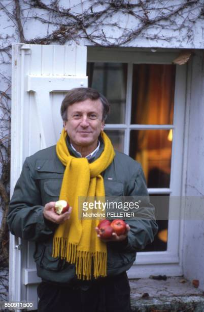 L'acteur Claude Rich le 3 décembre 1985 France