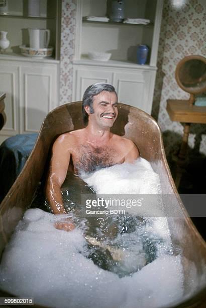 L'acteur JeanClaude Drouot dans la série télévisée 'Les Gens de Mogador' en 1972 en France