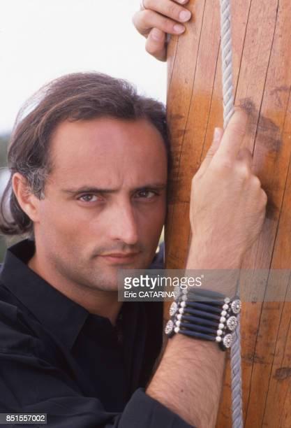 L'acteur metteur en scène de théâtre Daniel Mesguich à Sète en juin 1989 France