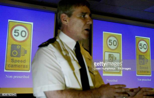 Acting Assistant Chief Constable of Cleveland Police John Burke at a news conference in Middlesbrough where he spoke out in the row involving...