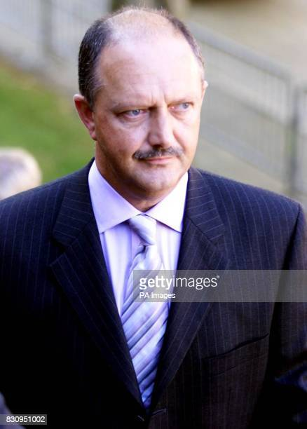 Acting Detective Chief Superintendant Chris Stevenson leaves Ian Huntley's first appearance at Peterborough Magistrates Court 03/11/04 Cambridgeshire...