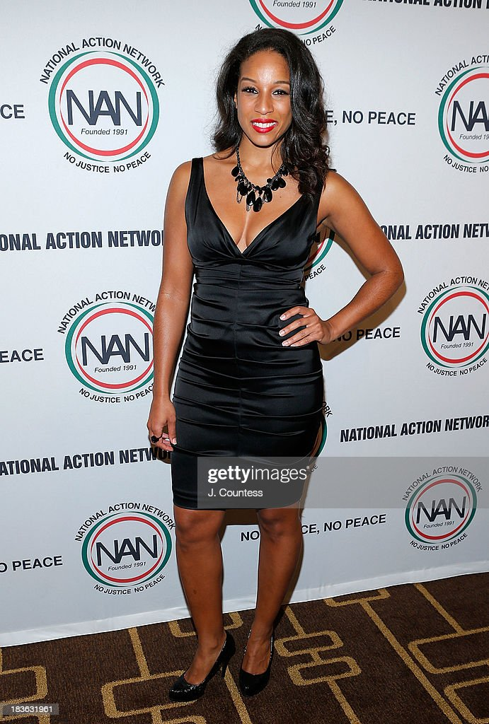 Acting Executive Director of the National Action Network Janaye Ingram attends The 4th Annual Triumph Awards at Rose Theater, Jazz at Lincoln Center on October 7, 2013 in New York City.