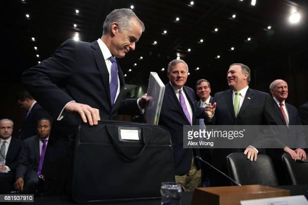 Acting FBI Director Andrew McCabe enate Intelligence Committee Chairman Richard Burr ranking member Sen Mark Warner Central IntelligenceÊAgency...