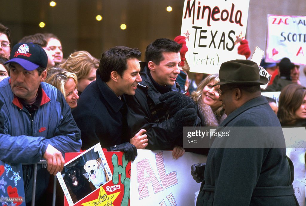 WILL & GRACE -- 'Acting Out' Episode 14 -- Pictured: (l-r) Eric McCormack as Will Truman, Sean Hayes as Jack McFarland, Al Roker as himself --