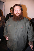 Action Bronson attends backstage at Terminal 5 on March 24 2015 in New York City