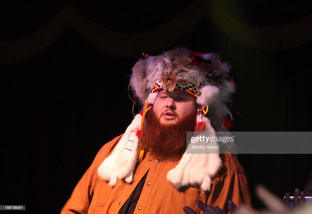 Action Bronson performs at the Brooklyn Bowl on December 26, 2012 in New York City.