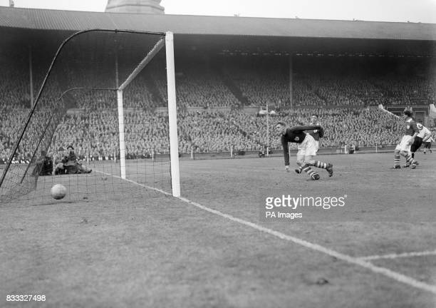 Action during the Cup Final at Wembley Derby beat Charlton 41