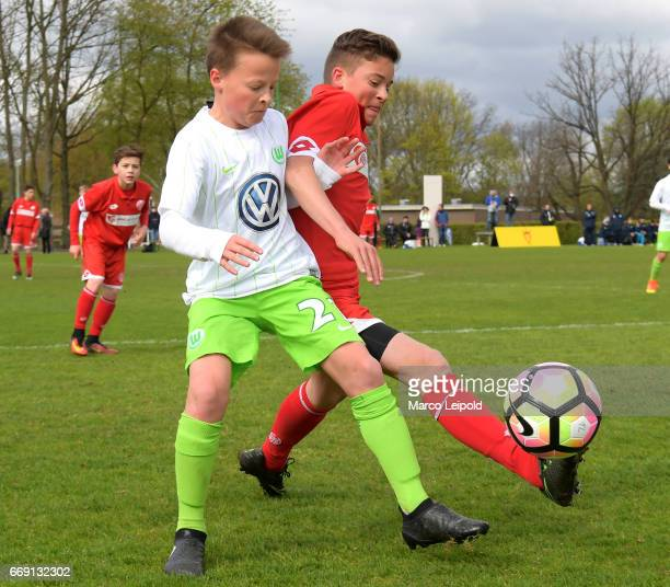 Action during the Nike Premier Cup 2017 on april 16 2017 in Berlin Germany