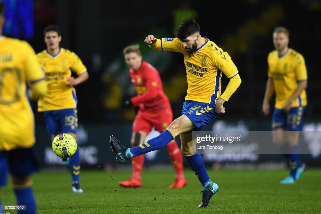 Brondby IF vs FC Nordsjalland - Danish Alka Superliga