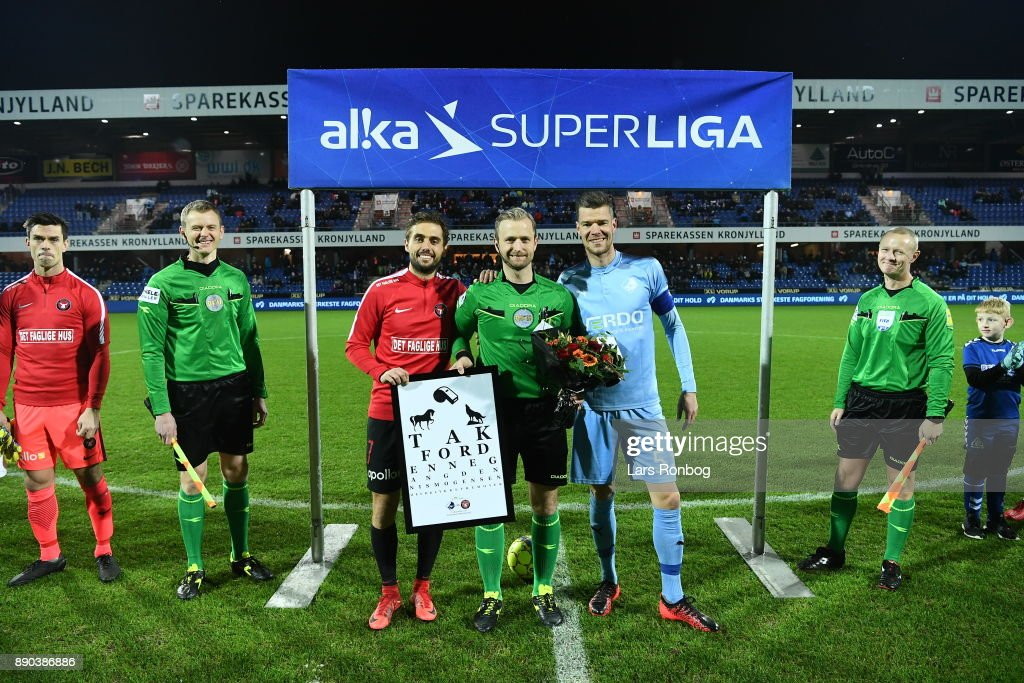 Randers FC vs FC Midtjylland - Danish Alka Superliga