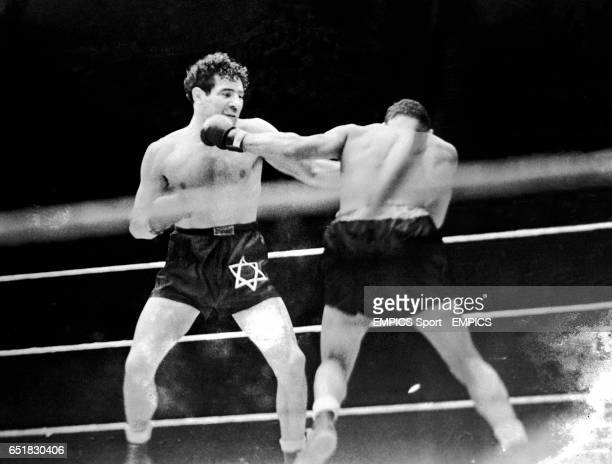 Action from the fight between former Champion Max Baer and future Champion Joe Louis