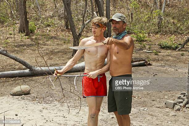 'Actions vs Accusations' Josh Canfield and Keith Nale during the third episode of Survivor 29 Wednesday Oct 8 on the CBS Television Network