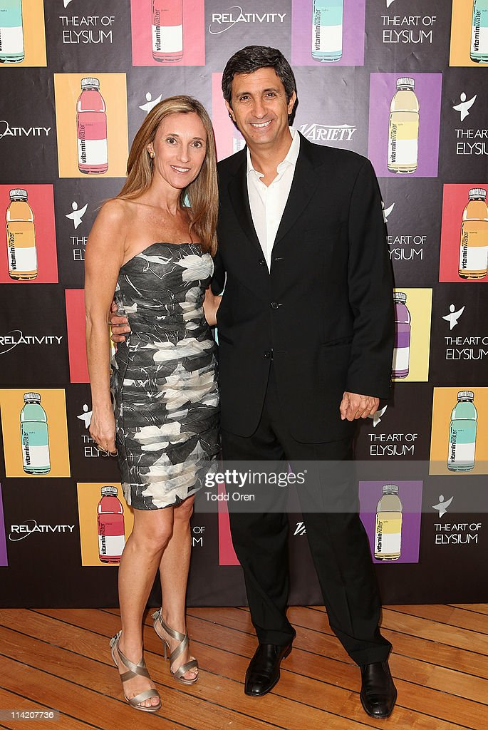 VP, Active Lifestyle Global Expansion Team at vitaminwater, Rodolfo Echeverria (R) attends the Art Of Elysium 3rd Annual Paradis Event hosted by vitaminwater at Hotel Du Cap on May 15, 2011 in Antibes, France.