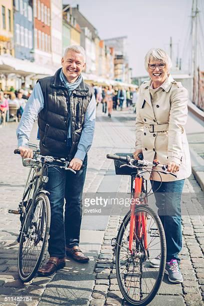 Active senior couple.