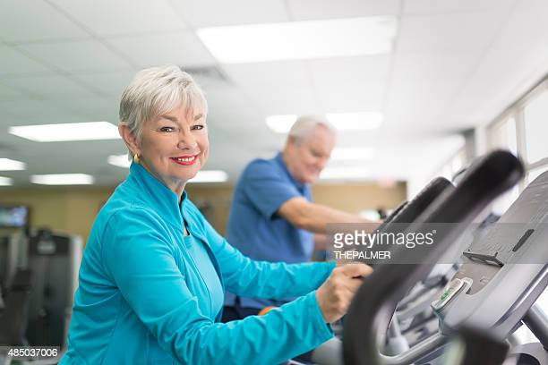 Active seniors treadmill machines