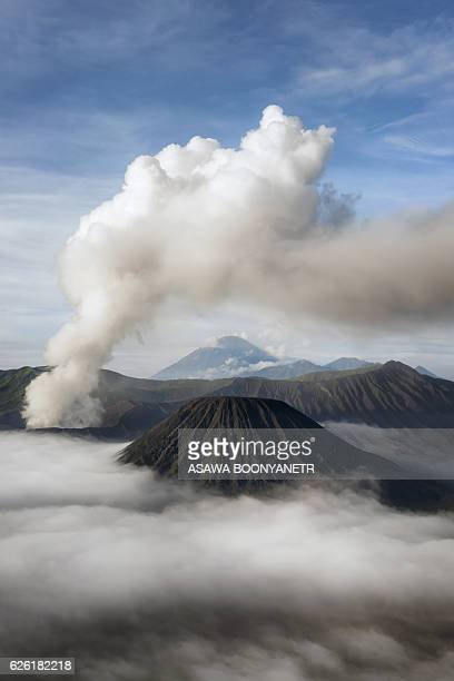 Active Volcano Mt.Bromo indonesia