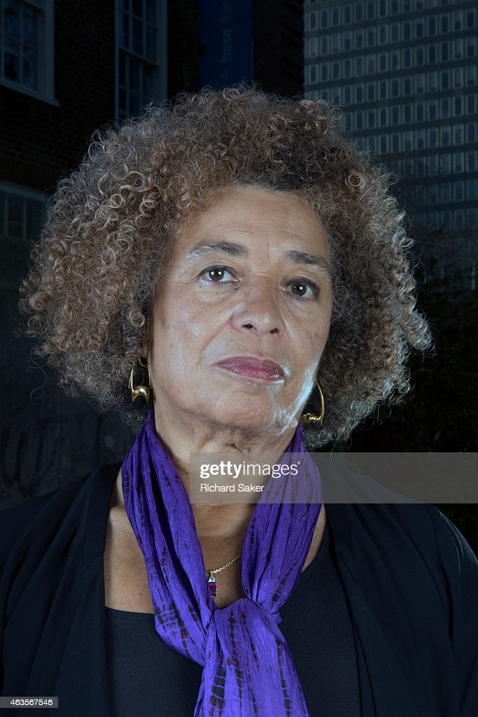 Activist and feminist campaigner <a gi-track='captionPersonalityLinkClicked' href=/galleries/search?phrase=Angela+Davis+-+Activist&family=editorial&specificpeople=233774 ng-click='$event.stopPropagation()'>Angela Davis</a> is photographed for Observer on November 29, 2014 in London, England.