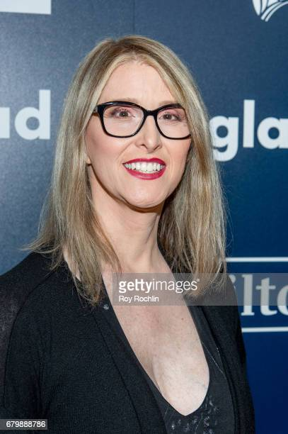Activist Andrea James attends the 28th Annual GLAAD Awards at New York Hilton Midtown on May 6 2017 in New York City
