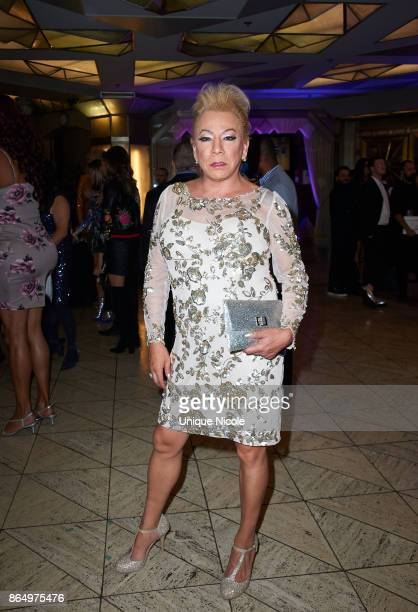Activist Bamby Salcedo attends the 2nd Annual TransNation Festival Closing Gala 'Eleganza' at Cicada on October 21 2017 in Los Angeles California