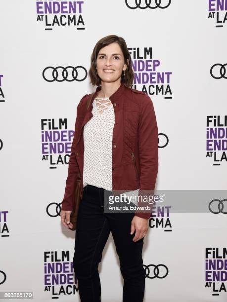 Activist Calene Van Noy attends the Film Independent at LACMA Special Screening of '11/8/16' at the Bing Theatre At LACMA on October 19 2017 in Los...