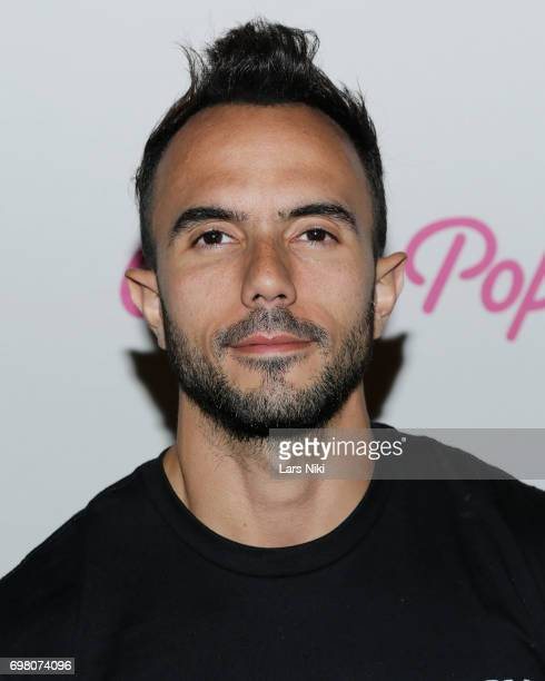 Activist Carlos Brandt attends the Cherry Pop Premiere at OutCinema Presented by NewFest and NYC Pride at SVA Theater on June 19 2017 in New York City