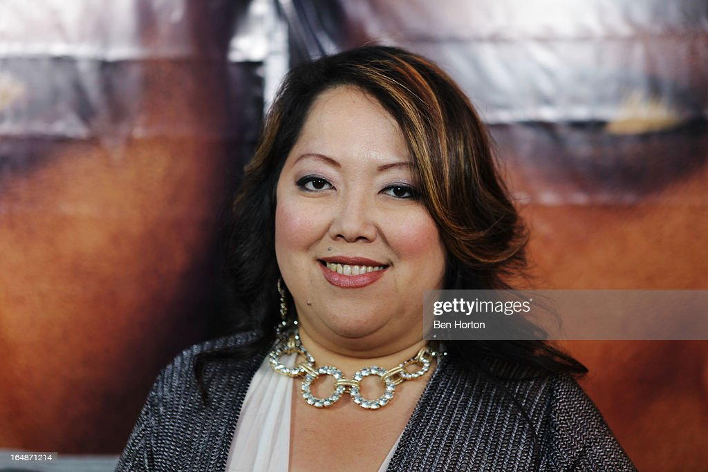 Activist Chong Kim attends the premiere of 'Eden' at Laemmle Music Hall on March 28, 2013 in Beverly Hills, California.