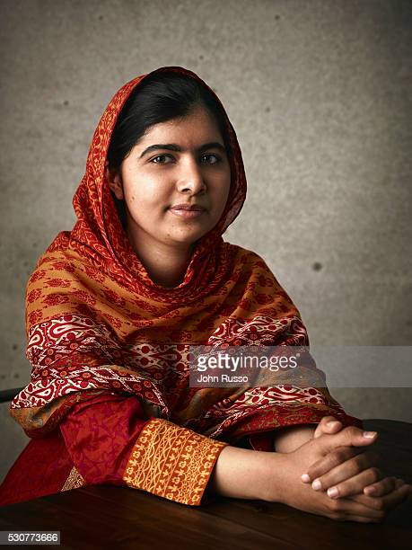 Activist for female education and the youngestever Nobel Prize laureate Malala Yousafzai is photographed for 20th Century Fox on August 1 2015 in Los...