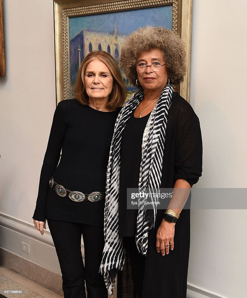 Activist Gloria Steinem attends 2016 Brooklyn Museum's Sackler Center First Awards at Brooklyn Museum on June 2 2016 in New York City