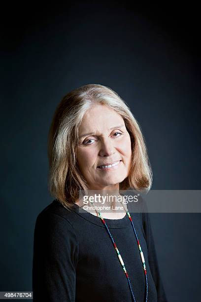 Activist Gloria Steinem is photographed for The Guardian Newspaper on October 7 2015 in New York City