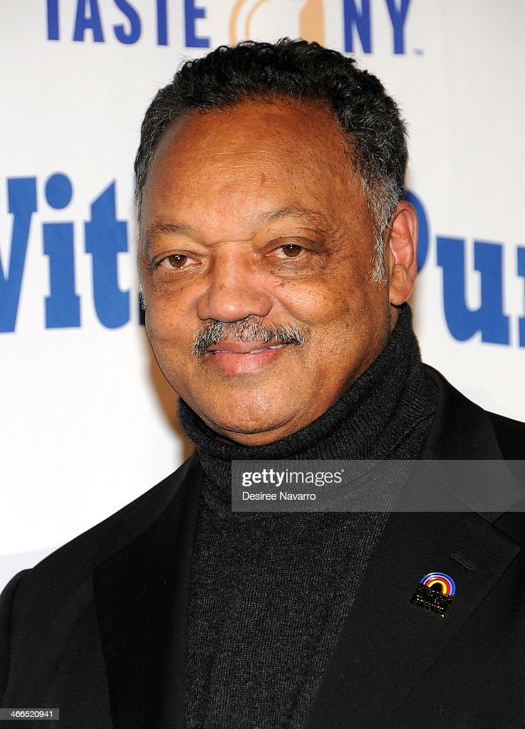 Activist Jesse Jackson attends the 23rd Annual Super Bowl Party With A Purpose at Brooklyn Cruise Terminal on February 1, 2014 in New York City.