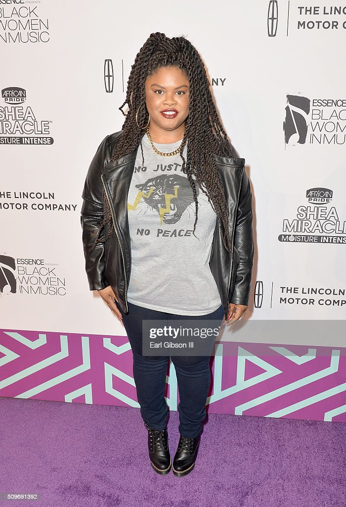 Activist Johnetta Elzie attends the 2016 Essence Black Women in Music event at Avalon on February 11, 2016 in Hollywood, California.