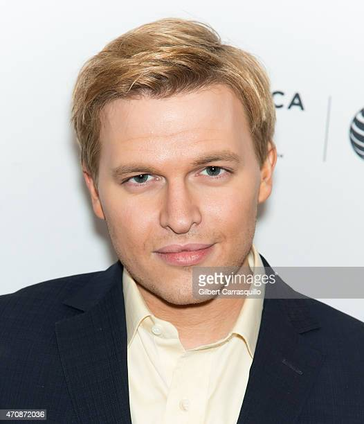 Activist Ronan Farrow attends the 2015 Tribeca Film Festival World Premiere Documentary 'The Diplomat' at SVA Theater 1 on April 23 2015 in New York...