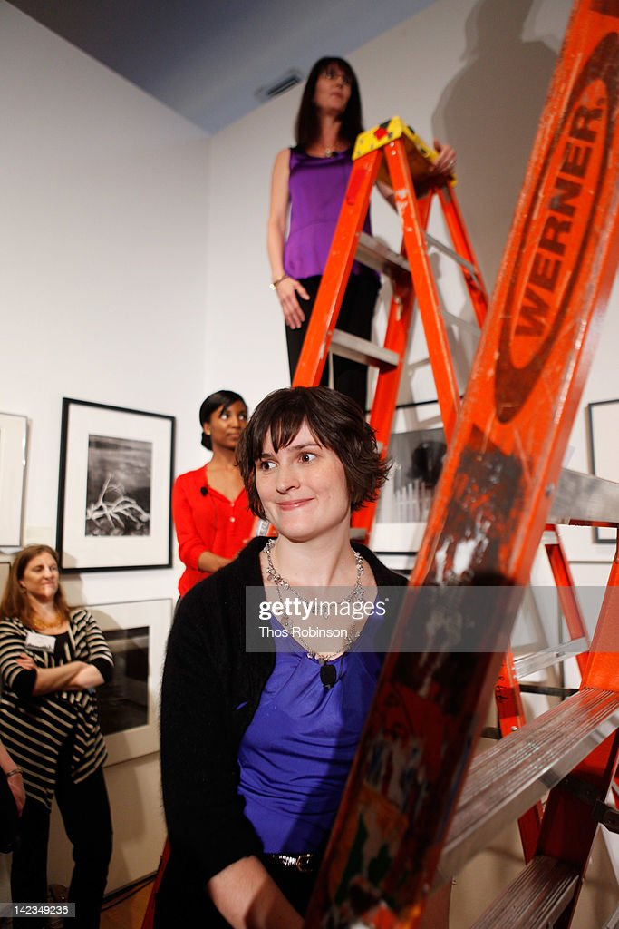 Activist Sandra Fluke performs at Christie's on April 2, 2012 in New York City.