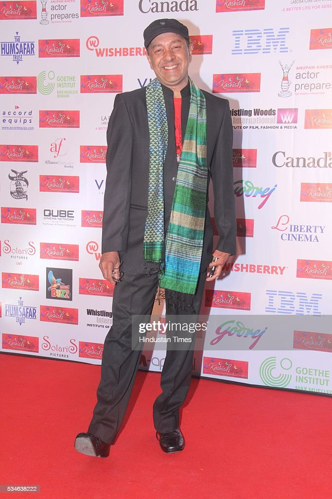 LGBT activist Sridhar during the opening ceremony of the 7th Kashish Mumbai International Queer Film Festival inaugurated by Hollywood actor Ian McKellen, at Liberty Cinema, Marine Lines, on May 25, 2016 in Mumbai, India. During a ceremony, McKellen said, 'I just want to say how happy I am to be at Kashish; it's my first visit to Mumbai. I made many friends already and I hope this evening to make many more. I've come to Mumbai to celebrate Shakespeare and to celebrate the connections between the United Kingdom and your country. And I've also come to support those who want to get rid of section 377 (which criminalizes homosexuality).'