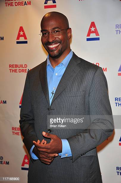 Activist Van Jones attends the 2011 Rebuild the Dream campaign launch at Town Hall on June 23 2011 in New York City