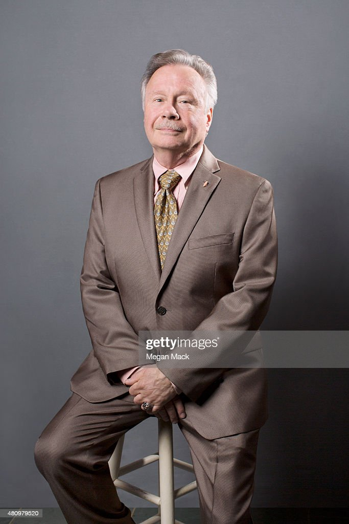 Activist Walter Naegle poses for a portrait at the Logo TV's 'Trailblazers' at the Cathedral of St John the Divine on June 25 2015 in New York City
