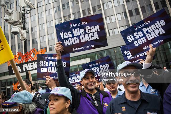 Activists calling for federal judges to reject challenges to President Obama's 'Deferred Action for Parents of Americans and Lawful Permanent...