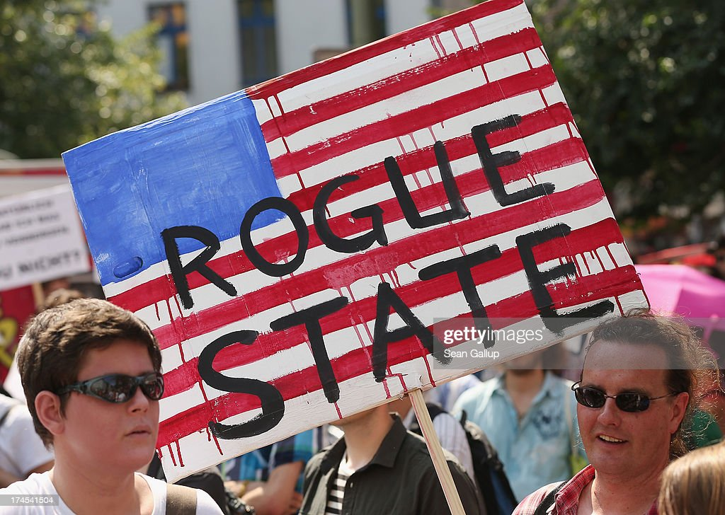 Activists demonstrate against the electronic surveillance tactics of the NSA and in support of whistleblowers Bradley Manning and Edward Snowden on...