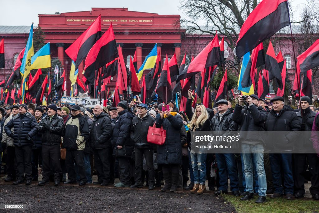 Protest Held Against Government In Ukraine
