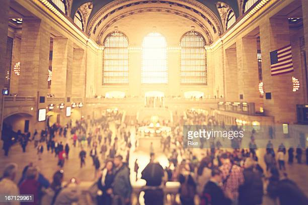 Activity in Grand Central Station