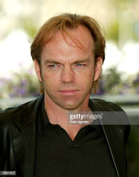 Acto Hugo Weaving poses at the 'Matrix Reloaded' photocall at the Palais Des Festival during 56th International Cannes Film Festival 2003 on May 15...
