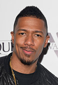 Acto Nick Cannon attends the release party for Meghan Trainor's debut album 'Title' at Warwick on January 13 2015 in Hollywood California