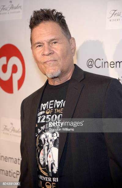 Actor A Martinez attends the reveal of the 'Longmire' coffee table book by Cinematic Pictures Group Publishing at Cinematic Pictures Gallery on July...