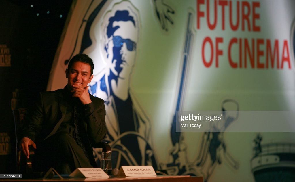 Actor <a gi-track='captionPersonalityLinkClicked' href=/galleries/search?phrase=Aamir+Khan+-+Actor&family=editorial&specificpeople=806800 ng-click='$event.stopPropagation()'>Aamir Khan</a> at the second day of the India Today Conclave in New Delhi on March 13, 2010.