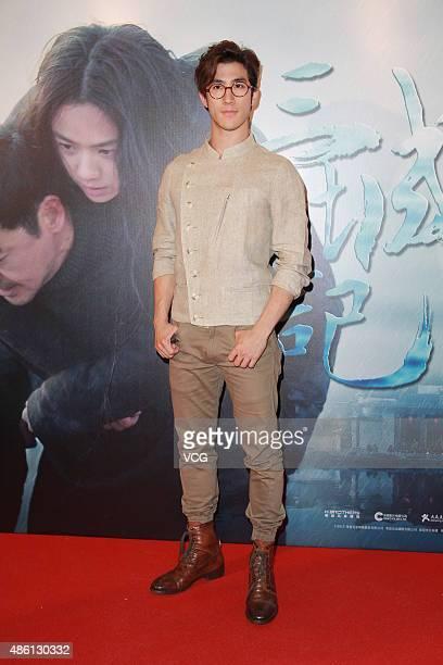Actor Aarif Lee attends 'A Tale Of Three Cities' premiere on August 31 2015 in Hong Kong Hong Kong
