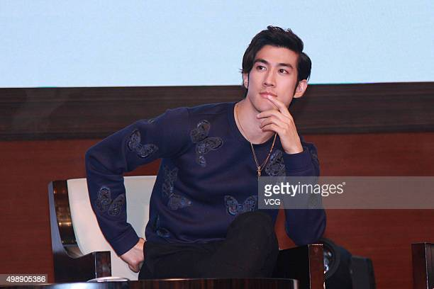 Actor Aarif Lee attends Mine Crafter Pro of Xunlei product activity on November 26 2015 in Beijing China
