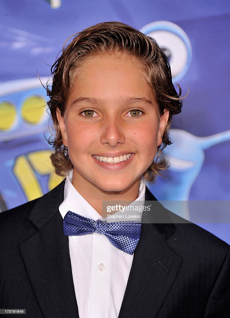 Actor Aaron Berger attends the 'Turbo' New York Premiere at AMC Loews Lincoln Square on July 9, 2013 in New York City.