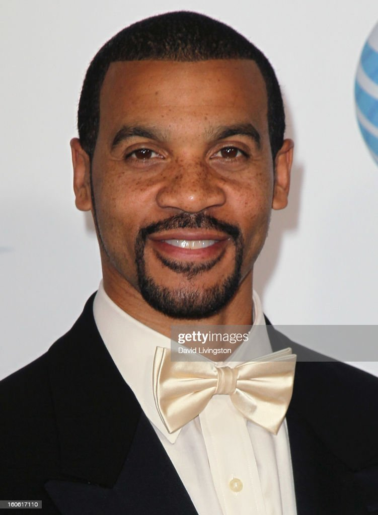 Actor Aaron D. Spears attends the 44th NAACP Image Awards at the Shrine Auditorium on February 1, 2013 in Los Angeles, California.
