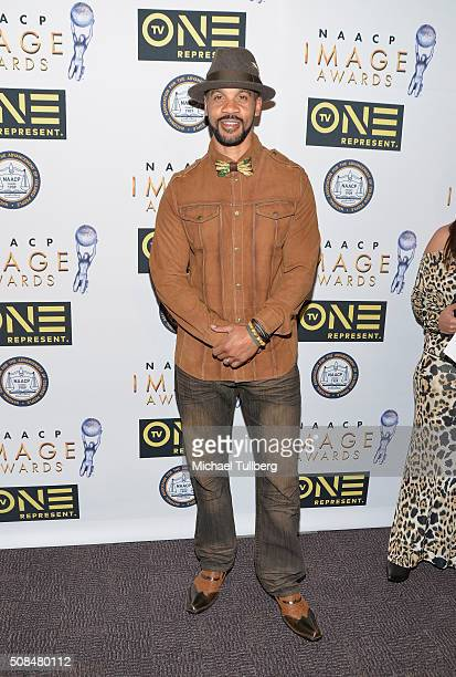 Actor Aaron D Spears attends the 47th NAACP Image Awards nontelevised awards ceremony at Pasadena Conference Center on February 4 2016 in Pasadena...